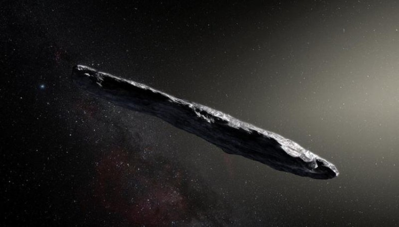 Wow! 1st Interstellar Asteroid Is a Spinning Space Cigar