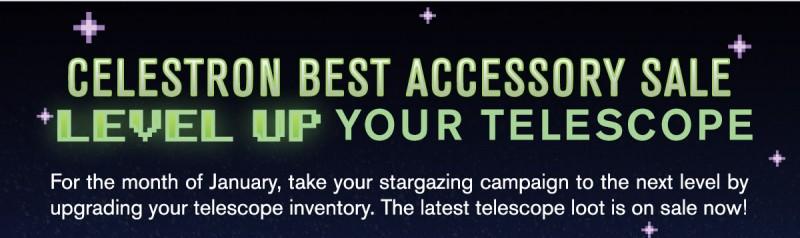 Celestron's Best Accessory Sale
