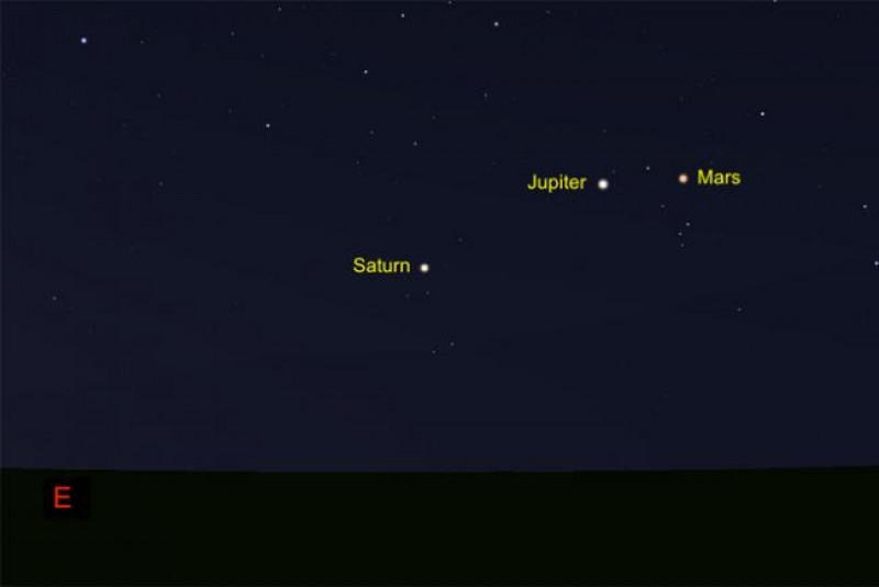 See Mars, Jupiter Get Together Before Dawn This Month