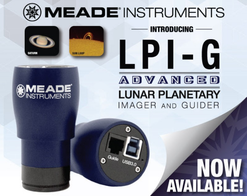 IT'S FINALLY HERE! Meade's LPI-G Advanced