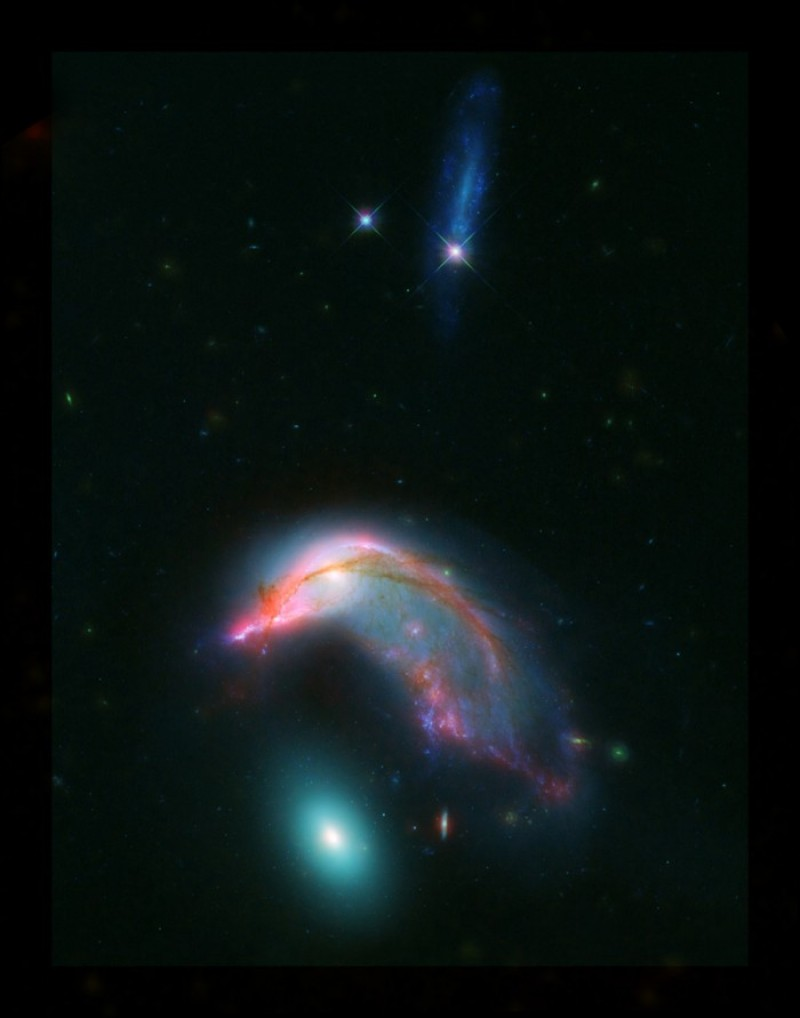 Galaxy Duo Looks Just Like a Penguin Guarding Its Egg
