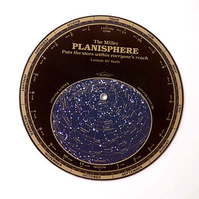Datalizer Slide Charts Miller's Planisphere Large 40 Degrees North Latitude
