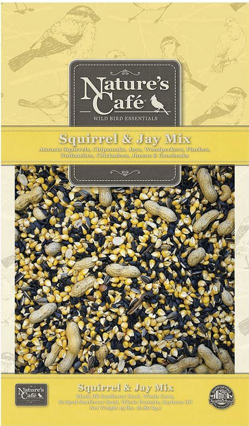 "Animal Supply Company ""Nature's Cafe"" Squirrel & Jay Mix (15 lb)"
