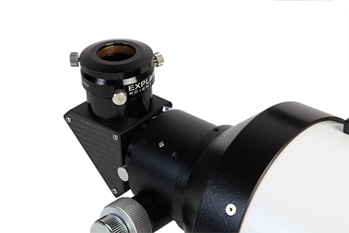 Perfect focus is easily achieved with the Explore Scientific Two-Speed Focuser