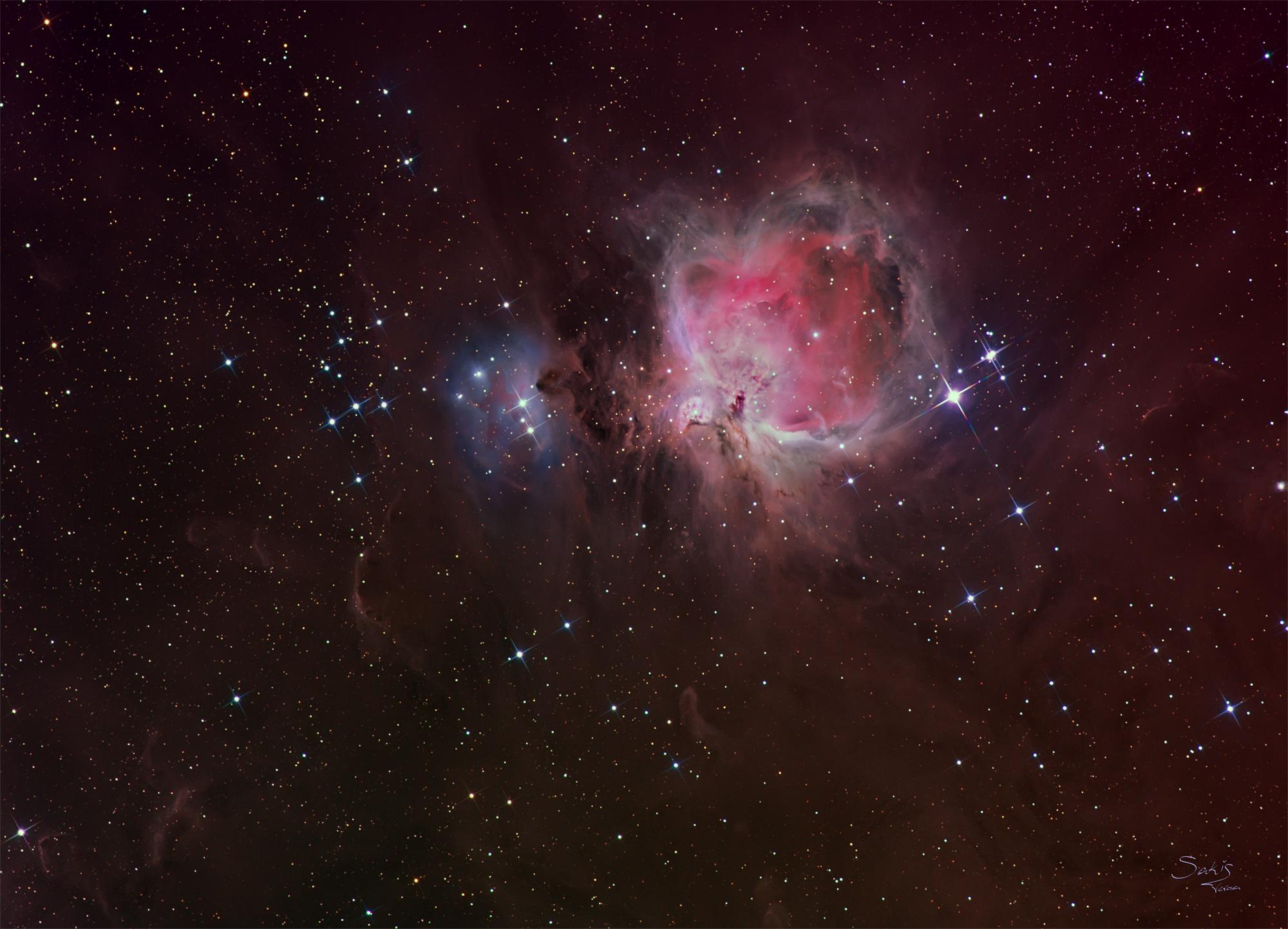 omega nebula 8 inch telescope - HD2000×1443