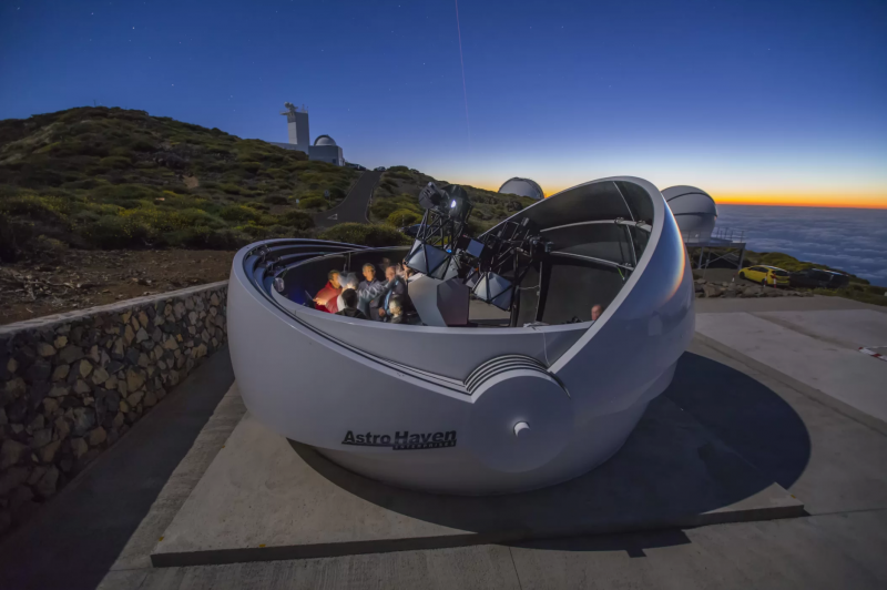 Optical Telescope Will Seek Sources of Gravitational Waves