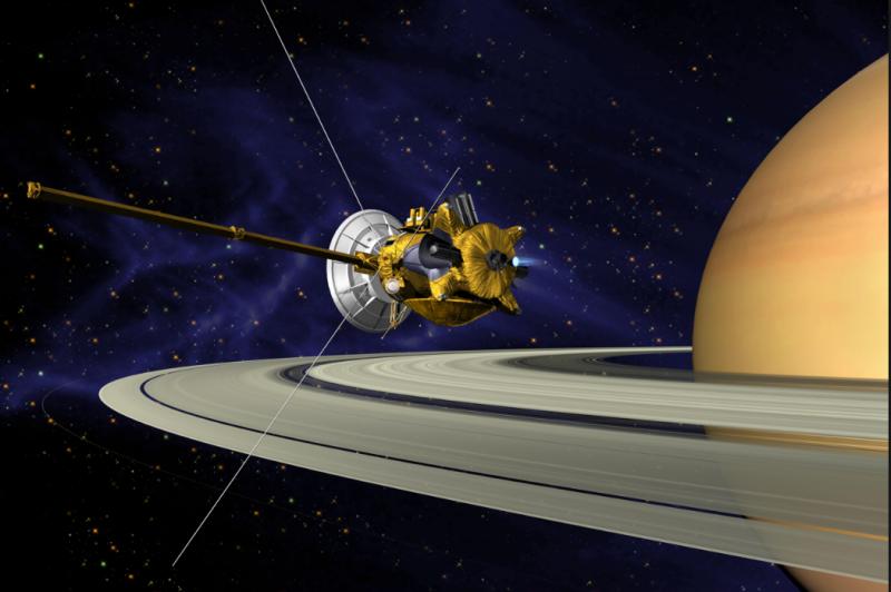 NASA's Cassini Spacecraft Ends Its Historic Exploration of Saturn