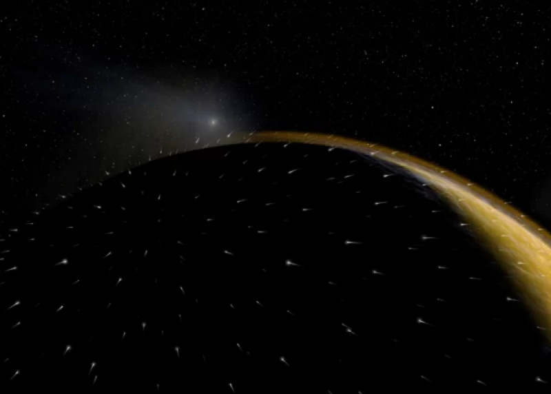 Comet's 2014 Mars Flyby Caused Most Intense Meteor Shower Ever Recorded