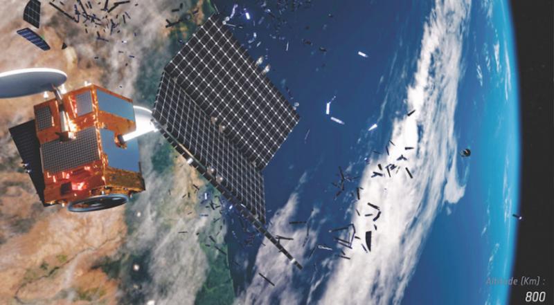 International partnerships to address orbital debris in absence of broader accord