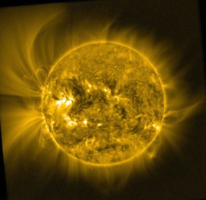 The Solar Surface is Only 10 Thousand Degrees -- So Why Does the Corona Sizzle at 1 Million Degrees?