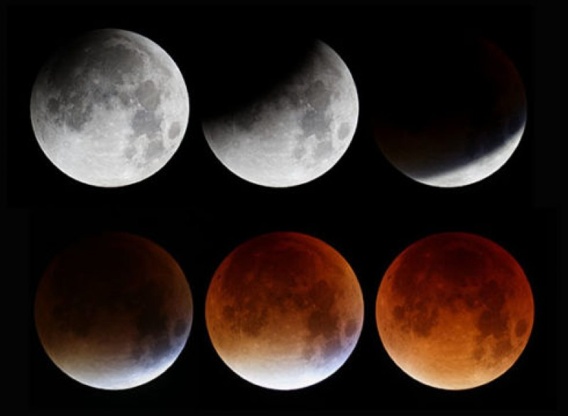 Red Moon Meets Red Planet in Longest Total Lunar Eclipse of the Century