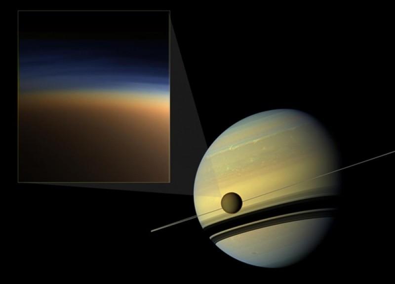 How did Titan get its haze?