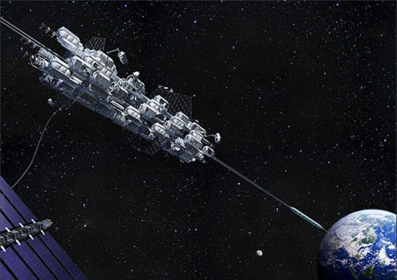 As If Space Elevators Aren't Cool Enough, They Might Fix Themselves, Too
