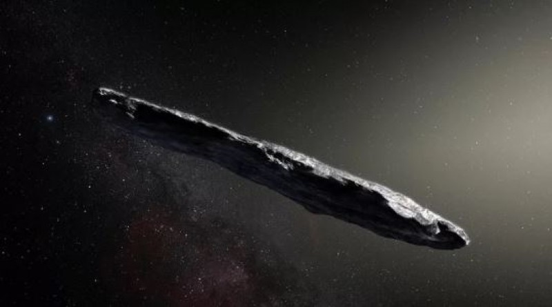 Could Life Hitch a Ride on Interstellar Visitors Like 'Oumuamua?