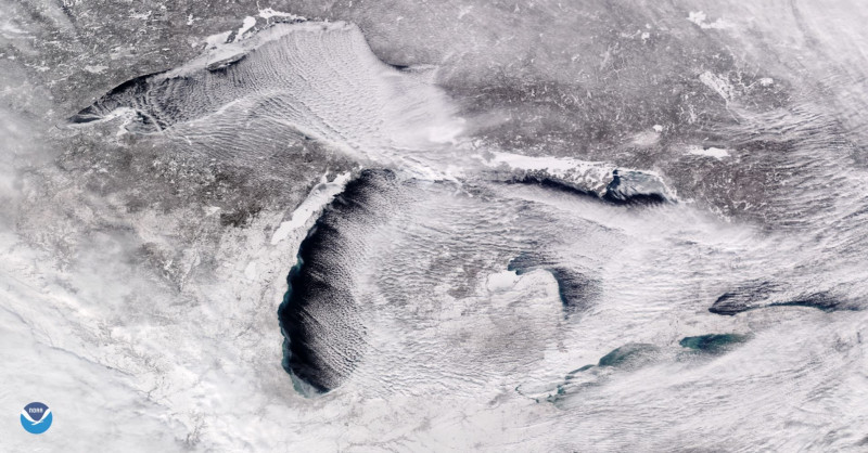NASA and NOAA: This is what the polar vortex looks like from space