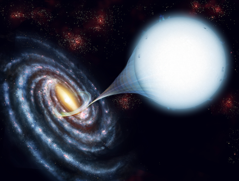 How high-speed stars escape the galaxy
