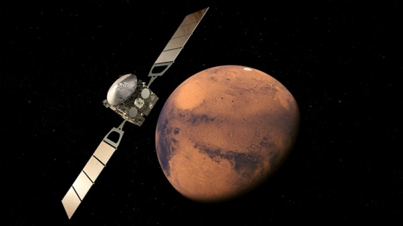 Astronomers finally confirm methane on Mars