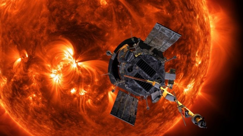 Parker Solar Probe will zoom by the sun again today