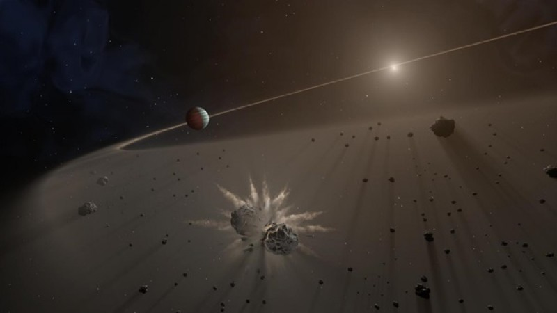 Astronomers discover a chunk of a planet's core around a long-dead star