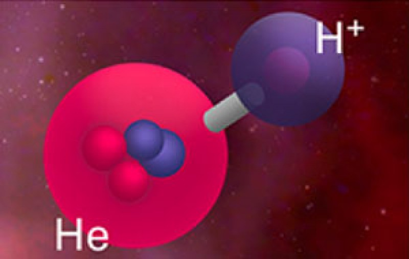 Astronomers Find Universe's First Molecule