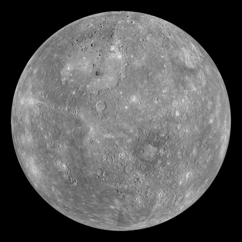 Mercury has a heart of iron; literally