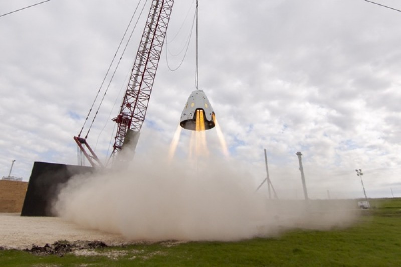 Crew Dragon test mishap could delay first SpaceX human flight