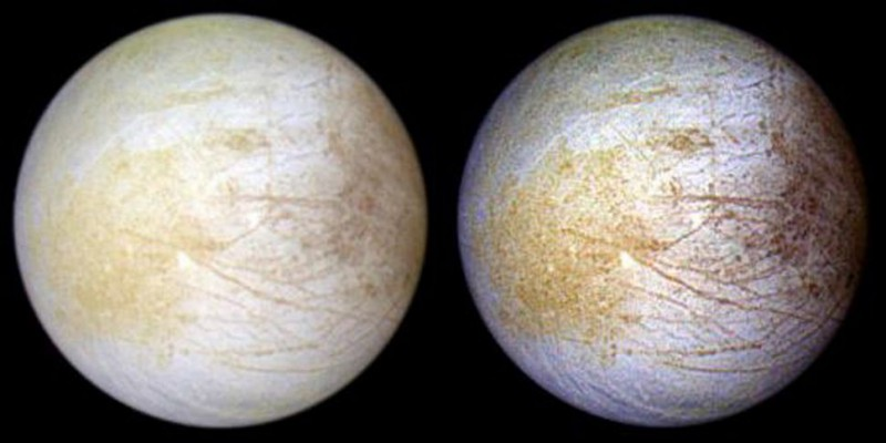 The Ocean on Jupiter's Moon Europa Has Table Salt, Just Like Earth's Seas
