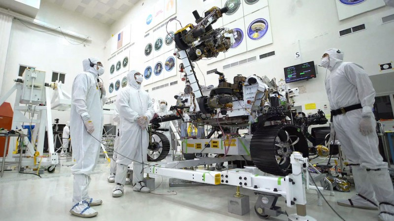 Mars 2020 rover on track for launch next July