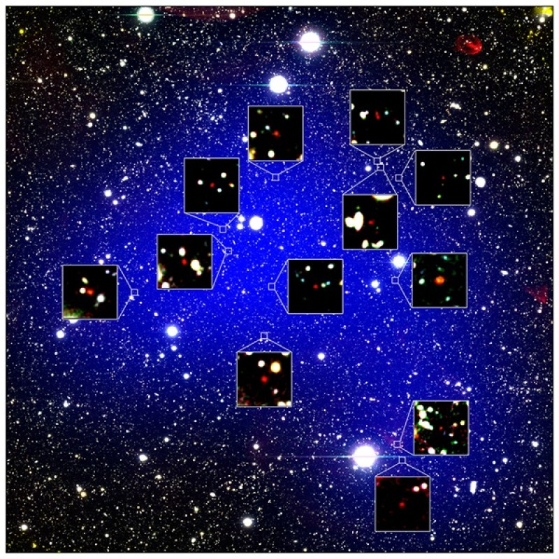 The oldest discovered cluster of galaxies is revealing the early universe