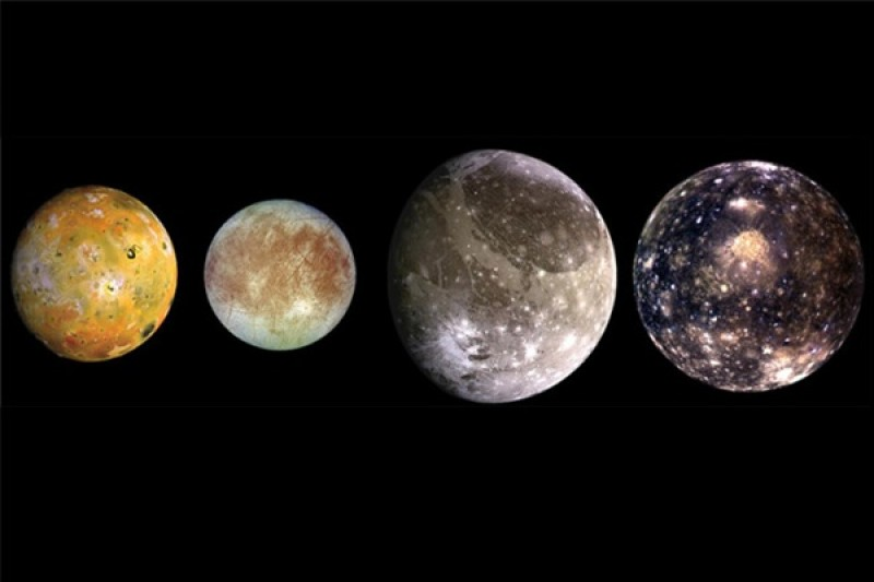 Jupiter's Galilean moons likely formed bit by bit from pebbles