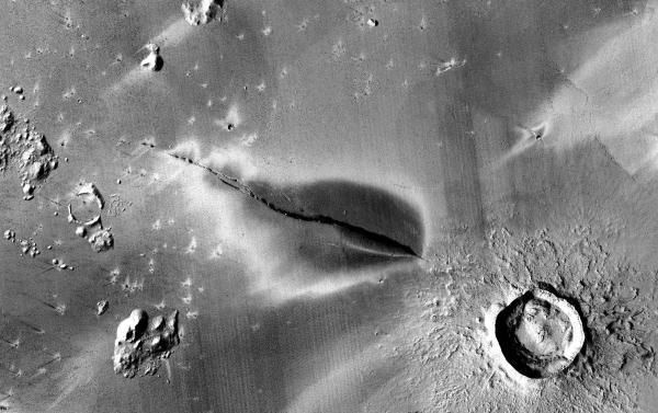 Snapshot: Evidence of recent explosive volcanism on Mars