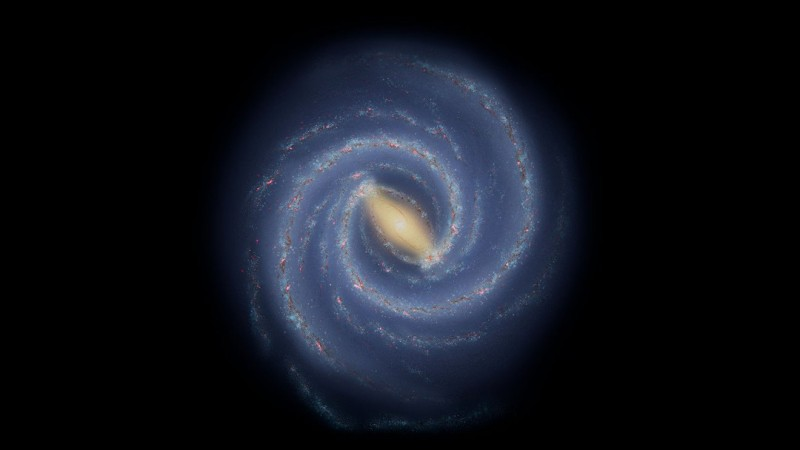 Astronomers Find a 'Break' in One of the Milky Way's Spiral Arms