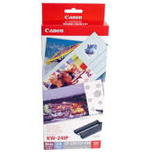 Canon Color Ink / Postcard Paper Set KW-24IP