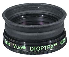 TeleVue Dioptrx Astigmatism Correcting Lens Assembly - 0.25 Diopter