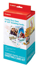 Canon Compact Photo Printer Greeting Card Kit