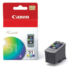 Canon CL-51 Color High Capacity FINE Cartridge