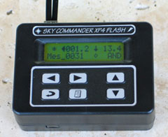 Sky Engineering Sky Commander XP4 Computer w/Flash Cable