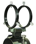 Stellarvue R80AT 80mm Finder Rings for Stellarvue Clamshells