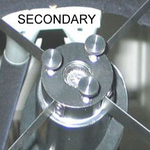 Bob's Knobs Collimation Knobs (Secondary) for Meade LightBridge