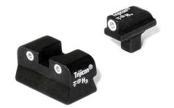 Trijicon Green Front & Green Rear Night Sight Set - Colt Govt, Newer CA01