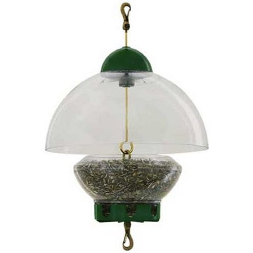 Droll Yankees Big Top Bird Feeder - Green