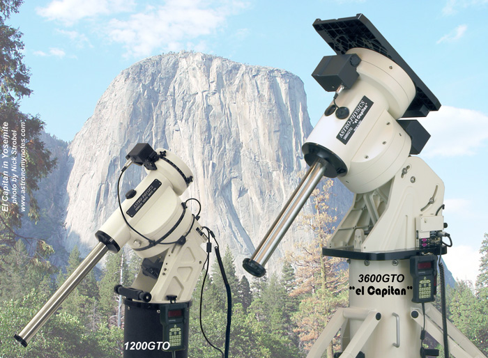 Astro-Physics 3600GTO German Equatorial Mount with Precision Encoder