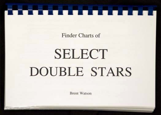 Sky Spot Finder Charts of Select Double Stars