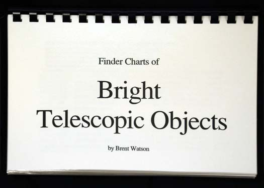Sky Spot Finder Charts of Bright Objects