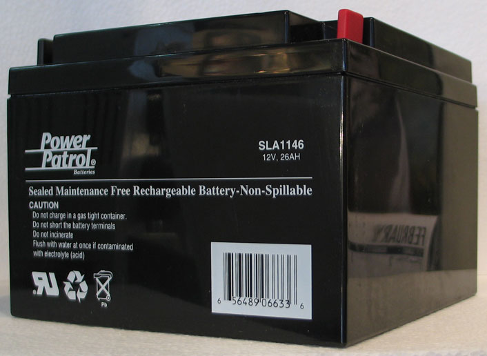 Takahashi 12V/26AH Rechargable Gel Cell Battery