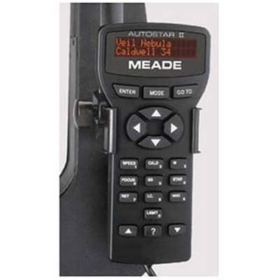 Meade AutoStar II Controller Wired for LX200GPS or RCX400