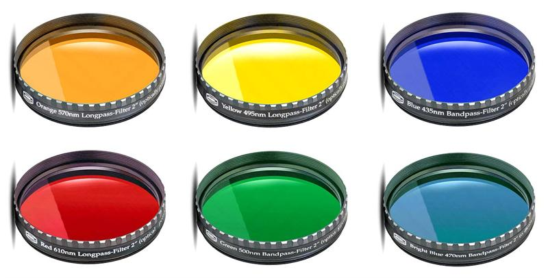 "Baader Planetarium 2"" Colored Glass Filter Set"