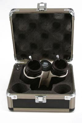Baader MaxBright® II Binoviewer with adapters to T-2 and Zeiss micro-bayonet in a padded carrying case, Viewer Only
