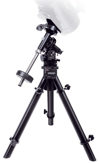 Losmandy  G-11 Equatorial Mount (Gemini 2) w/ HD Folding Tripod w/ Tucked-in Motors
