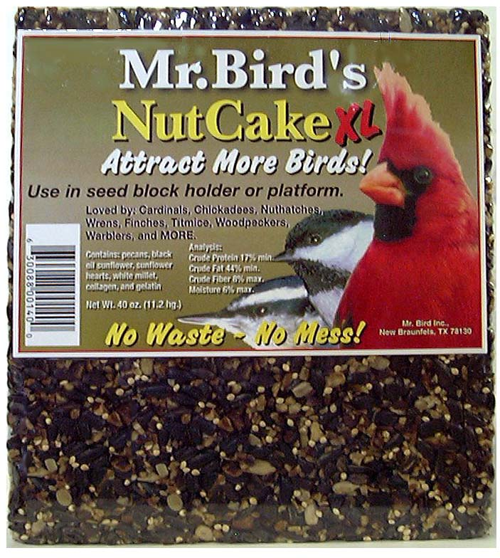 Mr. Bird Nut Cake #140  XL 32oz